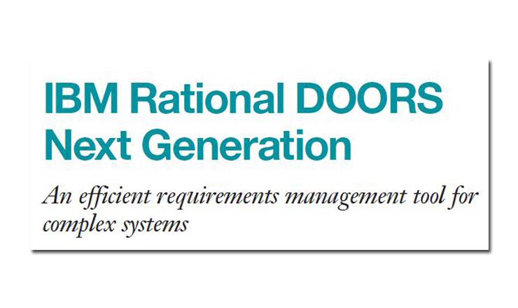 Rational DOORS Next Generation
